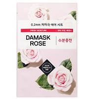 Тонкая тканевая маска для зрелой кожи ETUDE HOUSE 0.2 Therapy Air Mask Damask 20мл, фото 1