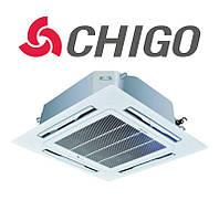 Кассетный кондиционер Chigo CCA-36HR1/COU-36HSR1