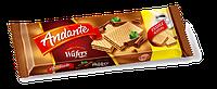Вафли молочным шоколадом Andante 130g.