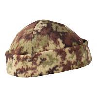 Камуфлированна флисовая шапка / Шапка флісова Vegetato HELIKON