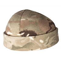 Камуфлированна флисовая шапка / Шапка флісова MP Camo HELIKON
