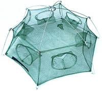 Раколовка шестигранная на 6 входов 80 сантиметров