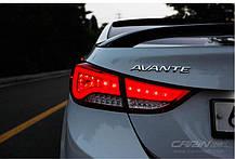 Задні ліхтарі LED Premium Ver.2 - Hyundai Avante MD (SUPER LUX), фото 3