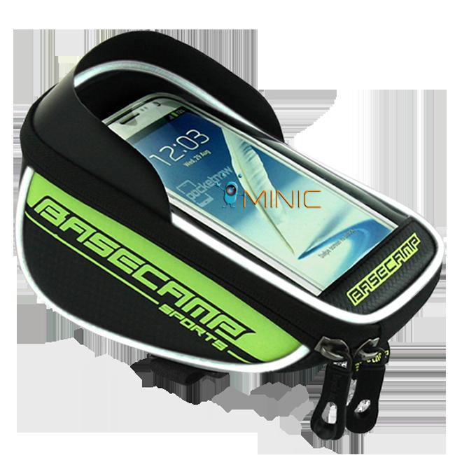 "Велосипедная сумка на руль для смартфона BaseCamp BC-305 L до 5.5"", фото 1"