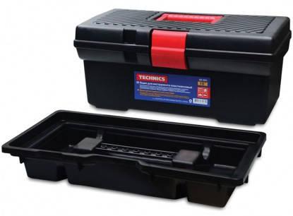 "Ящик для инструмента, пластик 16"", 410х205х180 мм Technics, фото 2"