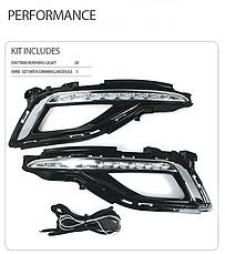 Дневные ходовые огни LED (DRL) - Hyundai LF Sonata (JSR), фото 3