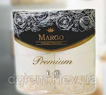 Туалетная бумага Марго Рremium 3слоя, 4рул. белые