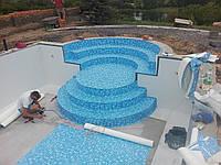 Монтаж лайнера для бассейнов