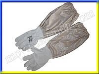 Перчатки пасечника с нарукавниками