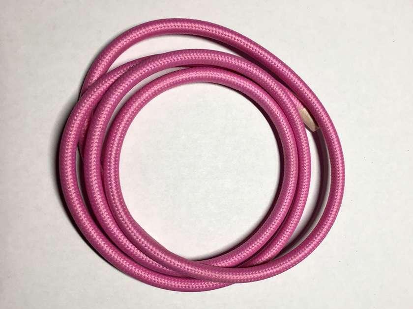 Текстильный провод (77 розовый)