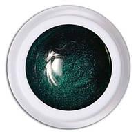 Гель-краска №302 Зеленое мерцание Magic, 5 мл.