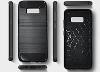 Чехол PRIMO Carbon Fiber Series для Samsung S8 (SM-G950) - Black