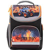 Рюкзак школьный каркасный  Kite  Monster Truck  K17-701M-2 ортопедическая спинка