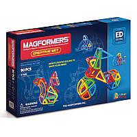 Магнитный конструктор Креативный, 90 элементов, серия Образование, Magformers