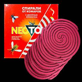 Неотокс Neotox спирали от комаров и мух с двойным эффектом
