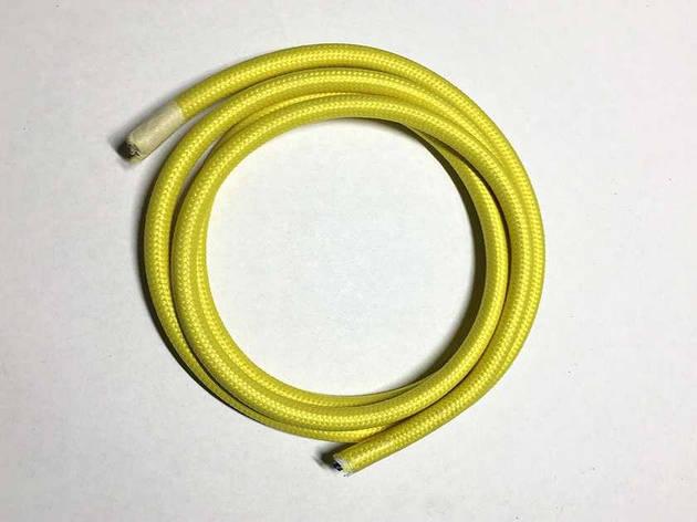 Текстильный провод (77 желтый), фото 2