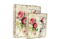 Классическая книга - шкатулка Прованс набор 2в1 на магните