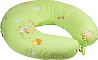 Подушка для кормления с наволочкой 65х65 см РУНО (909_Салатовый)