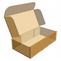 Коробка для конфет, макаронов, кексов золотистая