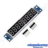 Модуль цифрового LED дисплея з контролером MAX7219