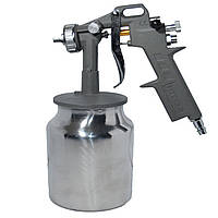Пистолет покрасочный пневматич., форсунка 1.5 мм, Н/Б. 1000 мл. 3.5-7 bar
