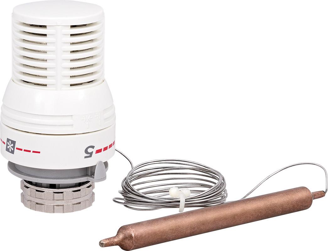 Термостатическая головка с погружным датчиком 30х1,5