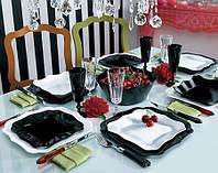 Сервиз столовый Luminarc AUTHENTIC black-white 19 предметов
