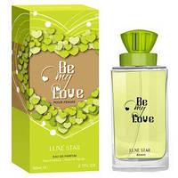 Женская парфюмерная вода Be My Love 80 мл Luxe Star