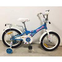 """Детский двухколесный велосипед Profi Original girl Голубой 20"""" G2064"""