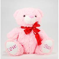 Детская мягкая игрушка, плюшевый мишка Любимый,розовый