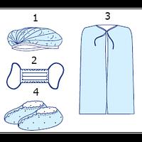 Комплект одежды для посетителей стерильный №1 Славна
