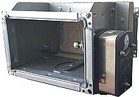 Клапан протипожежний огнезадерживающий КПВ 600х450 з приводом Lufberg, фото 1