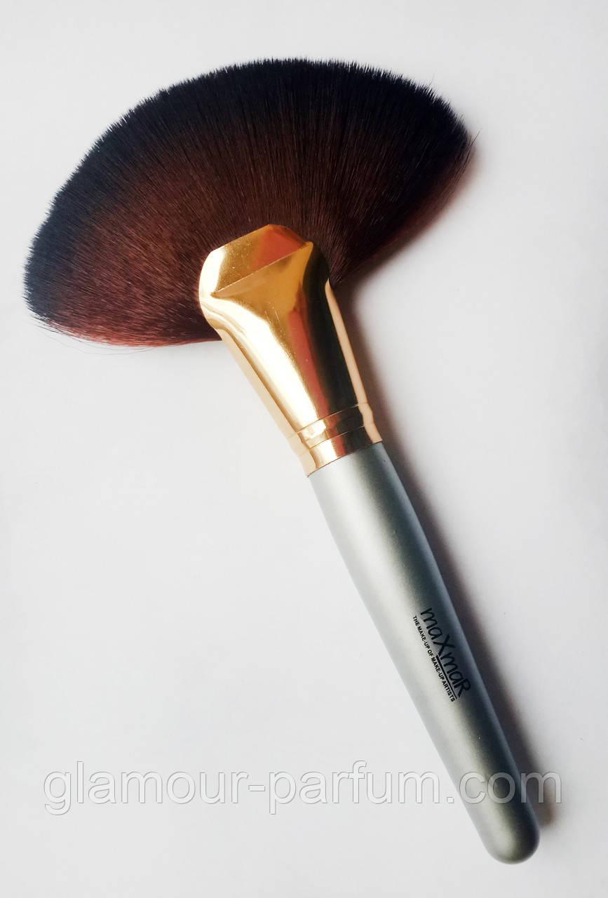 Купить Кисть Веерная для макияжа MaxMar Professional Brush (МаксМар Профешин Бруш)