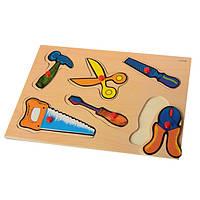 Деревянная рамка-вкладыш Инструменты