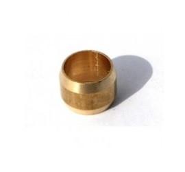 Ниппель (бонка) Ø6 латунь для медной трубки