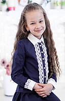 Шикарная школьная блуза 7252