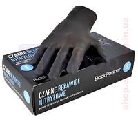 Перчатка нитриловая черная