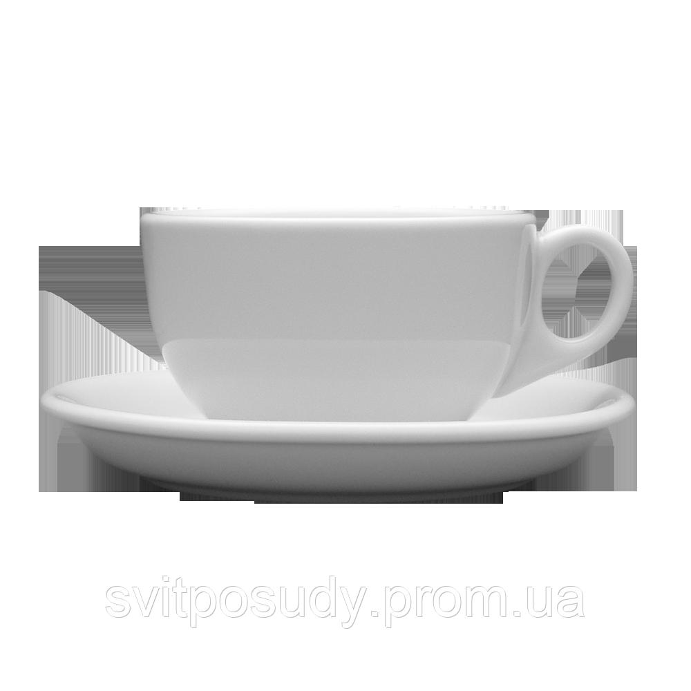 Чашка с блюдцем 250 мл / 145 мм, Lubiana, фасон AMERYKA