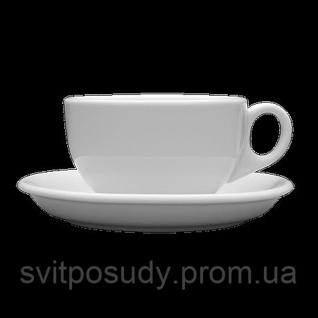 Чашка с блюдцем 250 мл / 145 мм, Lubiana, фасон AMERYKA, фото 2