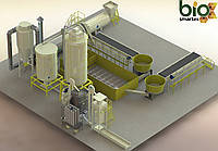 Линия гранулирования 700-1100  кг/ч