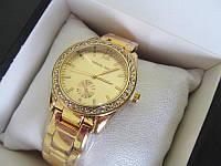 Женские часы Michael Kors золотистые МК, Майкл Корс