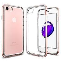 Чехол Spigen для iPhone SE 2020/8/7 Neo Hybrid Crystal, Rose Gold (042CS20524)