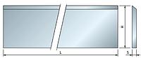 Ножи HSS для строгальных головок CP01M
