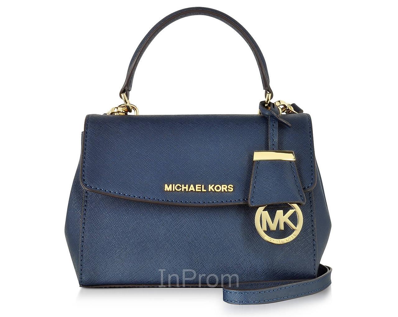 b0f9557fda23 Копия сумки Michael Kors Ava Medium Blue купить в Украине, купить в ...