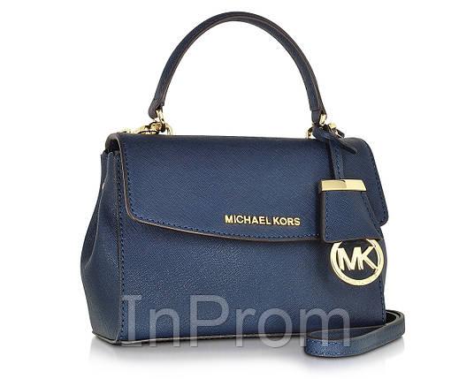 Сумка Michael Kors Ava Medium Blue, фото 2