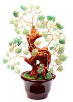 """Дерево счастья """"Хризолит"""" высота 14 см"""