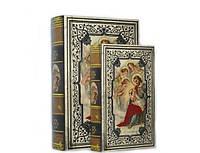 Религиозная Книга - шкатулка набор 2 в 1 на магните