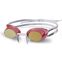 Очки для плавания Head Racer TPR+ зеркальное покрытие (451050/CLRDGO) (код 213-369930)