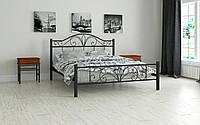 Кровать металлическая Элиз односпальная 90 (Мадера / Madera) 950х2008х1100 мм коричневый