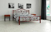 Кровать металлическая Элиз двухспальная 180 (Мадера / Madera) 1850х2008х1100 мм бежевый